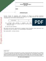 NBR 16868-3 - PROJETO - 2020 - Alvenaria Estrutural - Parte 3 - Métodos de Ensaio