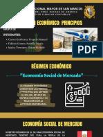 RÉGIMEN ECONÓMICO PRINCIPIOS