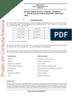 NBR 16775 - PROJETO - 2019 - Estruturas de aço, estruturas mistas de aço e concreto, coberturas