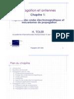 Propagation et antennes Chap. 1