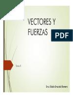 VECTORES Y FUERZAS
