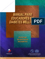 Manual educadores en Diabetes
