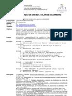 Administracao Cargos Salarios Carreiras