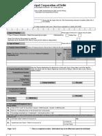 MCD Property Tax Return Form 2009-10