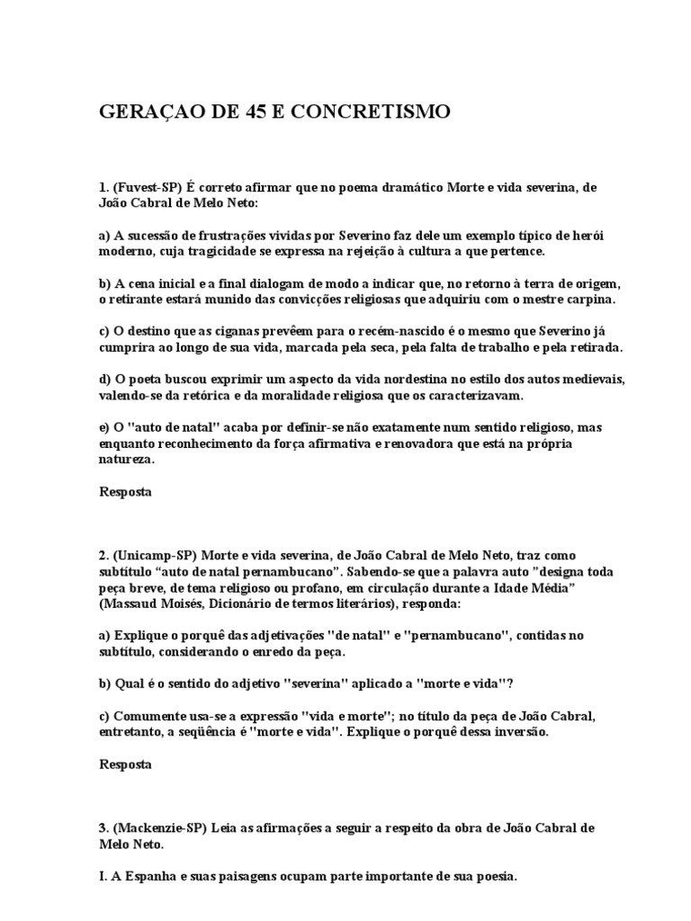 Amado M - GERAÇAO DE 45 E CONCRETISMO OW47