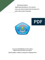 1. Cover Program Kerja 2018-2019