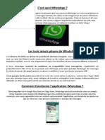 Découvrir-Whatsapp