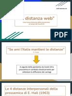 """La Distanza Web"""