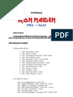 Iron Maiden Discografia