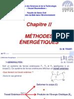 II-Methodes Energetiques