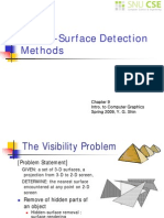 Computer GraphicsVisible-Surface Detection Methods
