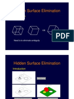 Computer Graphics - Hidden Surface Elimination