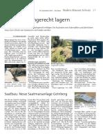 Festmist sachgerecht lagern - 10. September 2014