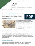 Arbitragem em Moçambique • Aceris Law LLC