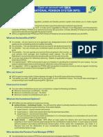 NPS leaflet