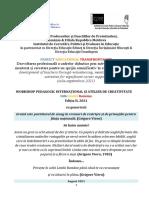 Atelier Odă Limbii Române, Ediția a II-A 2021 (1)