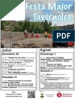 Festa Major de Tavèrnoles