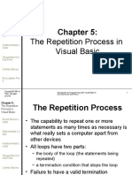 Visual Basic -The Repetition Process