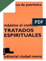 37. MAXIMO EL CONFESOR - Tratados Espirituales