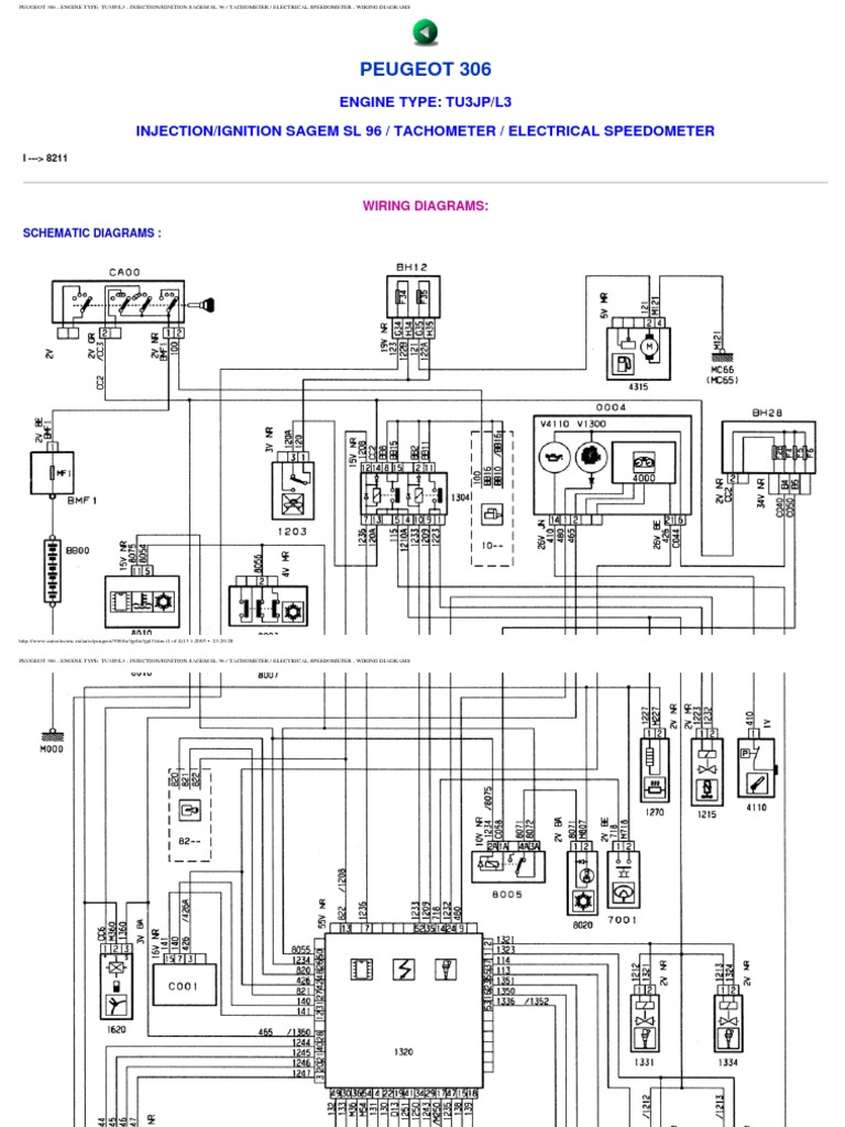 peugeot 306 wiring diagrams rh es scribd com peugeot wiring diagrams 206 peugeot wiring diagrams 2008