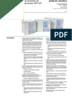 1MRK504080-BFR_F_fr_IED_de_protection_de_transformateur_RET_670_versions_preconfigurees