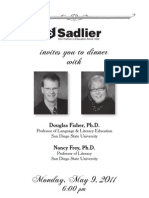 Dinner with Douglas Fisher & Nancy Frey