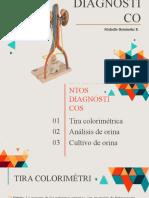 DIAGNÓSTICO DE INFECCIONES DE VÍAS URINARIAS