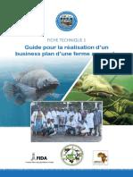 PPEA - Fiche technique 1_Business plan aquacole