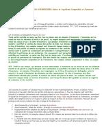 LES TRAVAUX DE FIN D'EXERCICES Selon le Système Comptable et Financier