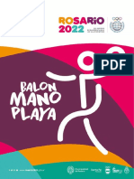 Manual de Balonmano Playa