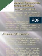 Instrumento de planejamento e controle financeiro