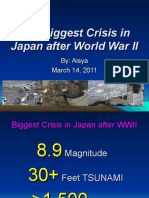 The Biggest Crisis in Japan after WW2- Aisya