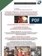 CATALOGO 96 ITINERARI -  PROGRAMMAZIONE 2020-2023 RETE MUSEALE REGIONALE - NUOVO