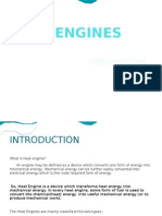 Heat Engines for Basic Mechanical Engineering