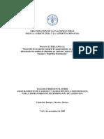 Desarrollo de un sistema integral de aseguramiento de calidad para laboratorios de analissi de alimentos !