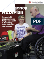 Household prepardness for people with disability