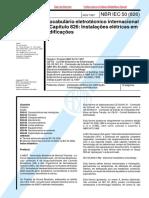 NBR IEC 50 Cap826 - 1997 - Vocabulario Eletrotecnico Internacional - Capitulo 826 - Instalacoes Eletricas Em Edificacoes