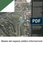 diseño del espacio publico internacional