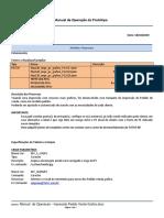 MIT072- Manual  de Operacao - Impressão Pedido Venda Grafico