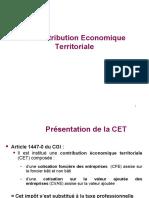 - SLIDES support de cours - CONTRIBUTION ECONOMIQUE TERRITORIALE FRANCE