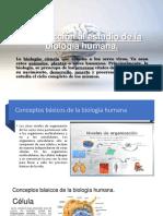 Introducción al estudio de la biología humana