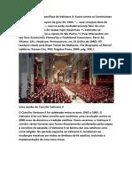 As Heresias mais específicas do Vaticano II