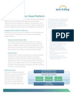 Workday Integration Cloud Platform Datasheet
