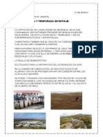 POTABILIZACIÓN Y TEMPORADA DE ESTIAJE