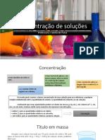 SEMI 1 - FRENTE - D - AULA 2- Concentração