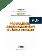 Programme Et Guide Du Primaire 2018