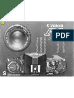Canon A1 - Manual Caste Llano x Lunnatic