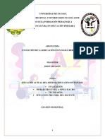 SITUACIÓN ACTUAL DEL SIS. EDUC. EN PMÁ (EXAMEN SEMESTRAL) (1)