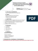 LAB # 6 COMANDOS DE CONFIGURACION CON CONSOLA PAKET TRACER