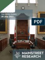 Nova Scotia Election Polling - July 28